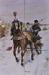 Tiles (streamer020nl) Tags: winter horse snow holland ice netherlands amsterdam cheval hiver nederland tiles nl sleigh pferd paard haarlemmerdijk ijs keramiek tegels ijspret 2015 tegeltjes haarlemmerbuurt slede 261115