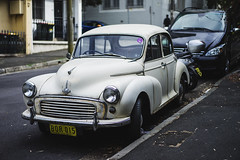 1959 Morris Minor OHV Series II (Leighton Wallis) Tags: old classic car rust automobile antique sony sydney australia 55mm nsw vehicle newsouthwales alpha f18 surryhills mirrorless a7r emount ilce7r