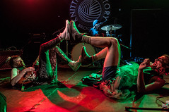 And The Kids and Ben Hopkins of PWR BTTM (eatsdirt) Tags: concert gig livemusic knittingfactory andthekids december2015