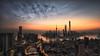 Dawn of the City II(The Bund, Shanghai, China) (Davis_Xin) Tags: city shanghai 上海 城市 陆家嘴 lujiazui 日出