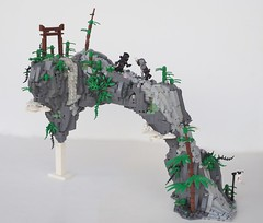 The Gloomy Arch Of Ages (W. Navarre) Tags: lego arch ages moc olympics