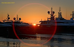 My 1st Sunset for 2017  DSC_3549 (Chris Maroulakis) Tags: faliron floisvos marina sunset athens nikon d7000 chris maroulakis 2017 flares