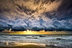 Storm Roll (Adam Kyle Jackson) Tags: beach beaches sand sunrise sunrises sunset sunsets gulf gulfofmexico houston texas galveston gulfcoast coastline shoreline coast coastal storm thunderstorm rain