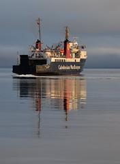 MV Isle of Arran Catching the Morning Sun (Russardo) Tags: brodick arran isle clyde sea mv calmac cal mac caledonian macbrayne ferry