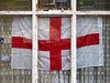 flag (steve marland) Tags: window netcurtains flags stgeorge southport sefton england