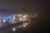 Mist in Kingston (Colin_Evans) Tags: fog kingston mist night river thames dawn daybreak water roayl borough kingstonuponthames london greater surrey englnd uk reflection reflections