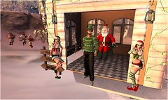 With The Visit Of Santa Claus (Wredziaa & Fabian50000pl) Tags: ryca re p accessories earing fabian fb outfit piercing r2a rings wffashion winter