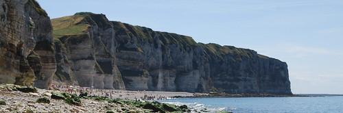Le Tilleul - Plage et falaises