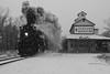 The OG Polar Express (Wheelnrail) Tags: steam locomotives railroad michigan trains train rail road railway snow winter railfanning 462 284 owosso carland coldwater quincy grain elevator smoke locomotive