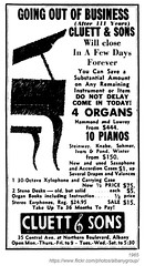 1965 cluett & sons (albany group archive) Tags: albany ny going out business 1965 cluett sons pianos organs central avenue