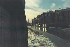 Lack (Batuhan A Priori) Tags: analog analogue analogphotography analoguephotography analogica analogcamera artwork art film filmphotography filmart filmcamera fujifilm far light sunset road reflection 35mm 35mmfilm 35mmfilmphotography pan400 sky cloud bazaar lack lacking