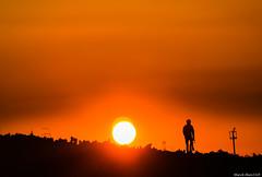 帰り道 / Way home (March Hare1145) Tags: 日本 japan 夕日 夕焼け sunset orange シルエット silhouette