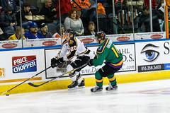"Missouri Mavericks vs. Quad City Mallards, January 21, 2017, Silverstein Eye Centers Arena, Independence, Missouri.  Photo: John Howe / Howe Creative Photography • <a style=""font-size:0.8em;"" href=""http://www.flickr.com/photos/134016632@N02/31715912893/"" target=""_blank"">View on Flickr</a>"
