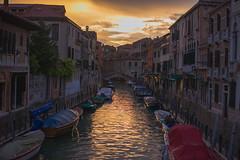 Venice Skies (Instagram: @aaronbfaulkner :)) Tags: sunset venice italy italia europe explore travel color sky water