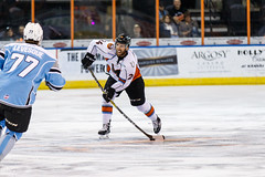 "Missouri Mavericks vs. Alaska Aces, December 17, 2016, Silverstein Eye Centers Arena, Independence, Missouri.  Photo: John Howe / Howe Creative Photography • <a style=""font-size:0.8em;"" href=""http://www.flickr.com/photos/134016632@N02/31755688215/"" target=""_blank"">View on Flickr</a>"