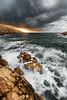 Splash (mvdc0w) Tags: callelongue marseille ocean sea sunrise sunset summer waves green architecture city light sun rock laurent bastide nisi