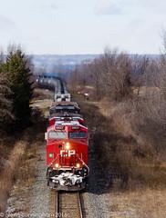 Sunday afernoon Ethanol (glenn_cunningham) Tags: canadian pacific trains train railroad railway railroading vinemount ontario winter cold windy niagara escarpment ethanol hamilton