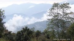 P1110026 Clouds down there at Kande (ks_bluechip) Tags: nepal trek dec2016 annapurna abc mbc pothana australiancamp kande