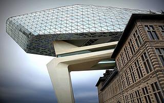 La maison du port à Anvers (The harbor house in Antwerp), Belgique, Zaha Hadid Architects