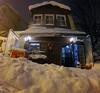 Yes, we are open. (hacky_Am) Tags: istanbul snow kar schnee street store algida pepsi atatürk turkey winter bosphorus bogaz bakkal