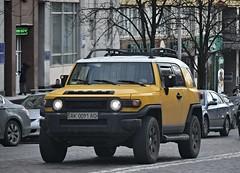 AK0091AO (Vetal_888) Tags: toyota fjcruiser licenseplates ukraine kyiv номернізнаки ak0091ao ak україна київ 0091 yellow