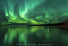 Green Reflections (burntpixel.ca) Tags: canada manitoba winnipeg photo photograph rural fine art patrick mcneill burntpixel wrench777 beautiful spectacular sony a7r2 a7rii canon landscape horizontal nature water green reflection aurora evening night northern lights sky skies lake