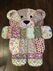 Bear flannel blanket (Thong Bartlett) Tags: flannel baby blanket