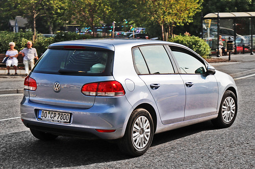 Volkswagen Golf MkVI - DO CP 7800 - Dortmund City, North Rhine-Westphalia, Germany