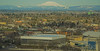 Mt St Helens Looming Over NE Portland (dog97209) Tags: mt st helens looming over ne portland oregon last eruption 1980 memorial coliseum rose garden trailblazers foreground