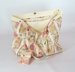 Handmade butterfly fabric print shoulder / tote bag (gertieprickles624) Tags: handmade shoulder tote bag bags fabric butterfly