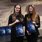 Hostese na dogodku UEFA Futsal EURO 2018 - One Year To Go. Photo Aleš Hostnik / Sport Media Focus