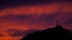 Sky. Sunset in France. (AloysiaVanTodd) Tags: