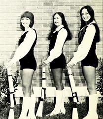 Majorettes (~ Lone Wadi ~) Tags: majorettes uniforms boots portrait retro 1970s