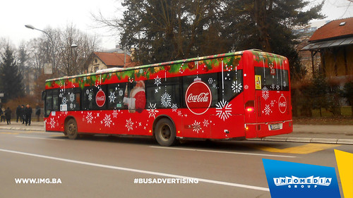 Info Media Group - coca cola, BUS Outdoor Advertising, 12-2016 (1)