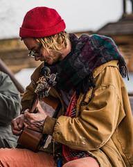 The Guitarist (Jose Matutina) Tags: caifornia calico civilwar guitarist man musician reenactment reenactors sel85f14gm sonya7ii tattoos yermo