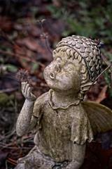 DSC_0295 (morganjellen) Tags: garden statue stone weathered whimsical