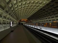 Washington DC Metro (MalaneyStuff) Tags: summer usa train underground subway dc washington publictransportation metro sony rail masstransit