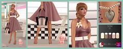 301 – Vintage Haze @FAD (Sannita_Cortes) Tags: fashion female yummy vanity sl secondlife virtual styles ikon tashi fad mishmish virtualworld maitreya slink meshbody virtualfashion glamaffair lavianco