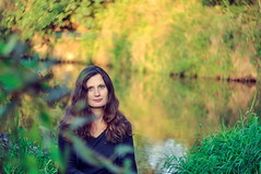 / Oksana (pavlo.malyshchak) Tags: woman plant west flower green nature water overgrown beauty grass forest river evening village walk ukraine wife shores region bushes      ivanofrankivsk      kalush