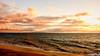 Maui Snapshot:  Glorious Maui Sunset (alliance1) Tags: ocean sunset color beach hawaii maui kihei 2015 16x9crop fujifilmxt1