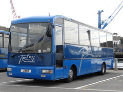 Tantivy 61 (Coco the Jerzee Busman) Tags: uk blue bus islands coach camo renault cannon jersey swift dennis tours dart channel leyland lcb plaxton tantivy