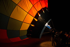 Dawn Patrol, Reno 2015 (donberry37 (SF Bay Area)) Tags: hot fire dawn nevada hotair balloon gas flame reno races patrol inflation balloonraces