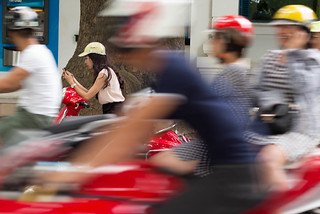 Hanoi smartphone stop