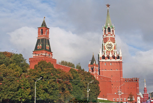 The Towers of the Kremlin