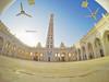 مسجد المحضار -  Mihdhar Mosque (Hussein.Alkhateeb) Tags: high long with mud minaret famous mosque tarim yemen من مسجد حضرموت اليمن ذو hadramout الطين الشهير mihdhar المئذنة الطويلة العالية المحضار تريم المبنية