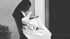 La monja. . . . (Erick_ALVZ) Tags: blackandwhite bw blancoynegro photo pic nocrop capitalismo monja religin ideologa instagram ifttt iphone5s