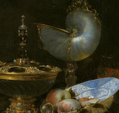 kalf_still_life_with_holbein_bowl_nautilus_cup_glass_goblet_fruit_dish_detail_1678 (Art Gallery ErgsArt) Tags: museum painting studio poster artwork gallery artgallery fineart paintings galleries virtual artists artmuseum oilpaintings pictureoftheday masterpiece artworks arthistory artexhibition oiloncanvas famousart canvaspainting galleryofart famousartists artmovement virtualgallery paintingsanddrawings bestoftheday artworkspaintings popularpainters paintingsofpaintings aboutpaintings famouspaintingartists
