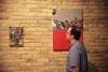IMG_8620 (Experimental_Sound_Studio) Tags: chicago art collage artopening tiredeyes danmohr chicagogallery jordanmartins audiblegallery