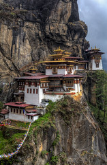 The Incredible Paro Taktsang (Baron Reznik) Tags: cliff mountain nature vertical architecture landscape bhutan district buddhist traditional religion scenic culture peaceful tranquility buddhism structure monastery mtn himalaya  idyllic hdr himalayas spirtuality  vihara scenicview tibetanbuddhism   colorimage  himalayanrange mahayana  buddhistmonastery  drukyul  canon24105mmf4lis kingdomofbhutan builtstructure  landofthethunderdragon dzongkhag  parodistrict  mahyna  parotaktsang     thetigersnest taktsangpalphugmonastery      abodeofthesnow