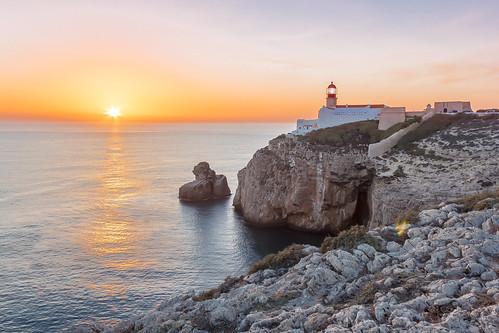 Farol Cabo St Vincente, Portugal